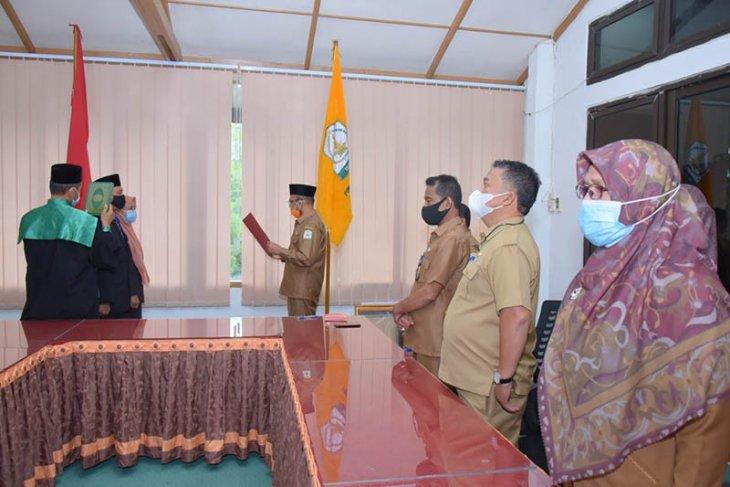 Bupati Aceh Tamiang umumkan pejabat sekda. Ini dia namanya