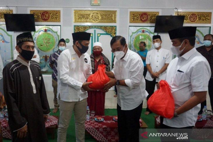 Wabup Buleleng puji pelaksanaan protokol kesehatan Masjid Jami' Singaraja
