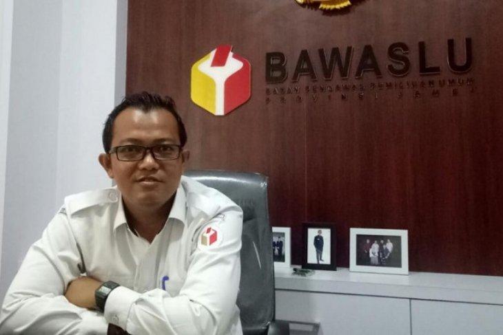 Bawaslu Jambi merekomendasikan coret petugas PPK dan KPPS lama