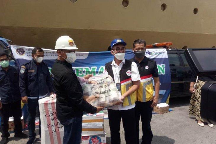 Stake holder Pelabuhan Tanjung Priok kirim bantuan untuk korban banjir di NTT