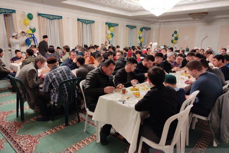 Ramadhan di Rusia semarak sekalipun pandemi
