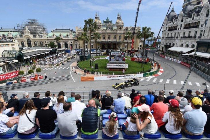 Formula 1 di GP Monako izinkan 7.500 penonton