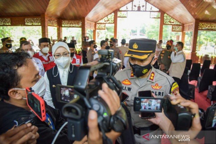 935 personel ditempatkan di pos penyekatan Purwakarta untuk adang pemudik