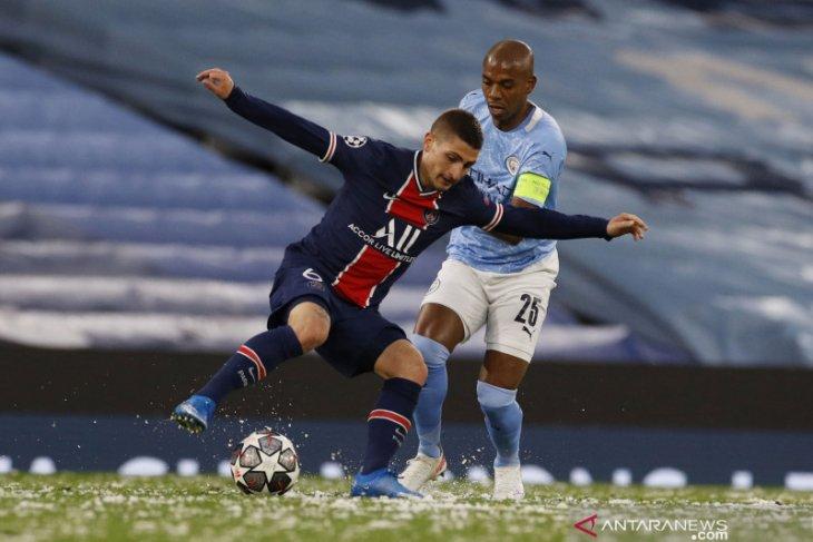Meski kecewa, Verratti akui City memang pantas ke final