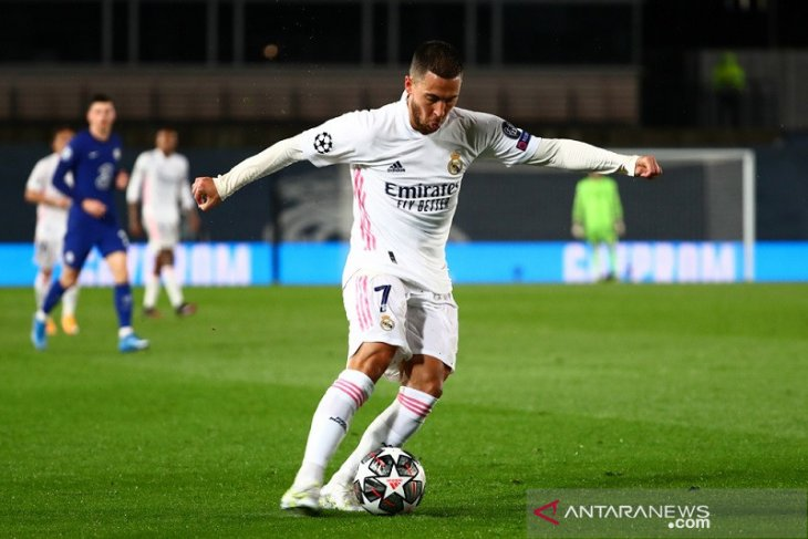Hazard dituntut  buktikan kemampuan saat Real Madrid hadapi Chelsea