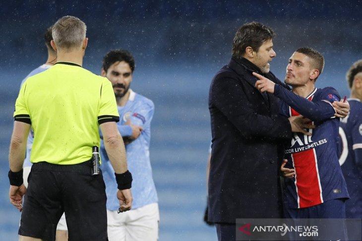 Verratti: Kartu merah runtuhkan kepercayaan diri PSG