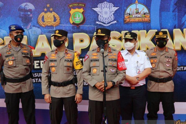 Polri/TNI siapkan 155 ribu personel untuk Operasi Ketupat 2021