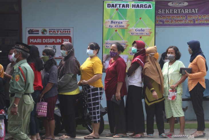 Pasar murah di Stadion Gajayana Malang dibatalkan demi cegah kerumunan