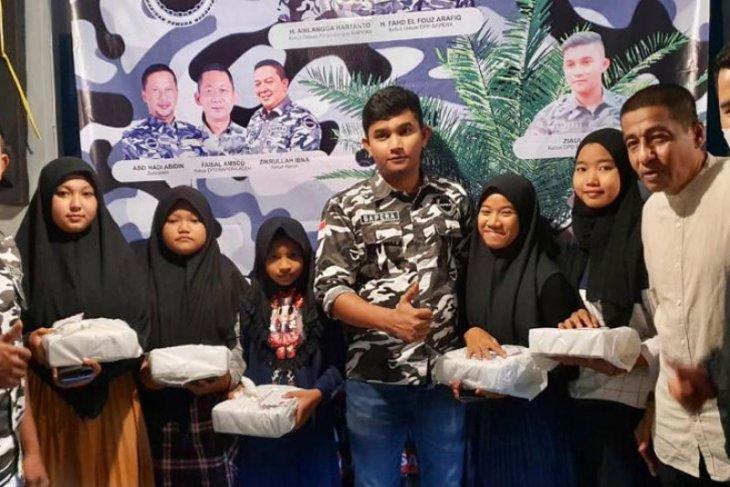 Momentum Ramadhan, DPD Bapera Sabang santuni anak yatim