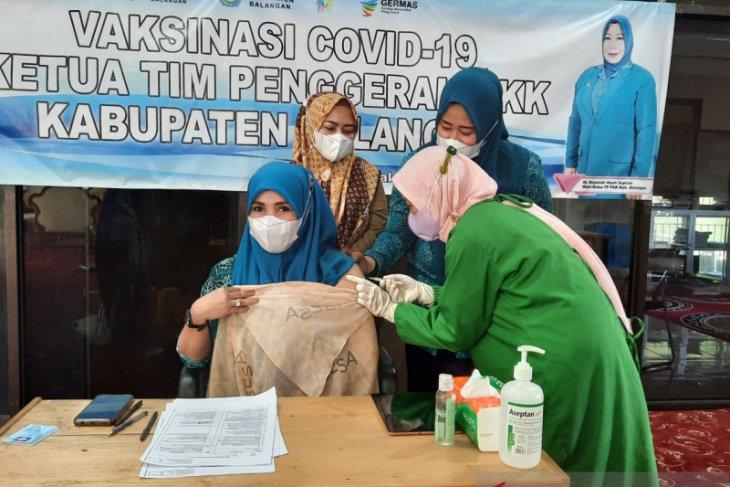 TP PKK Kabupaten Balangan laksanakan vaksinasi COVID-19