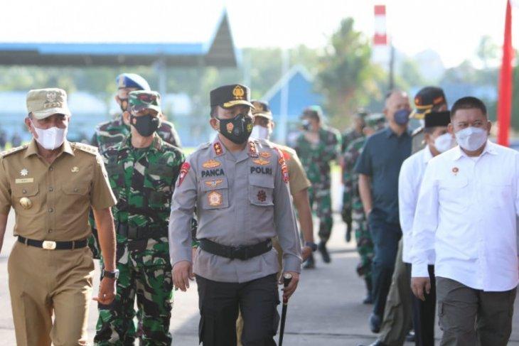 Polda Sumut apel gelar pasukan pengamanan  Idul Fitri 2021