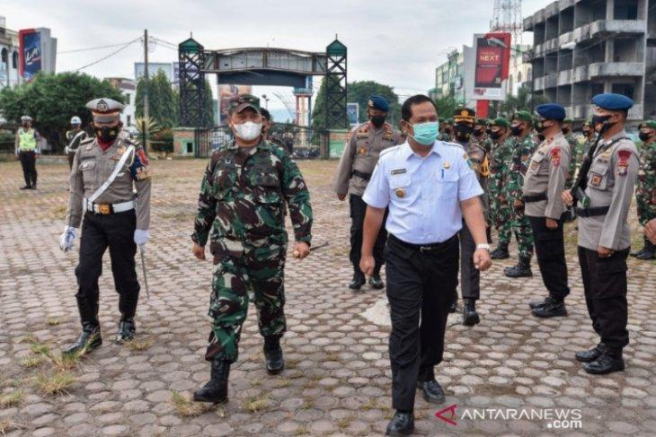 Wali Kota Padangsidimpuan pimpin apel gelar pasukan Operasi Ketupat 2021