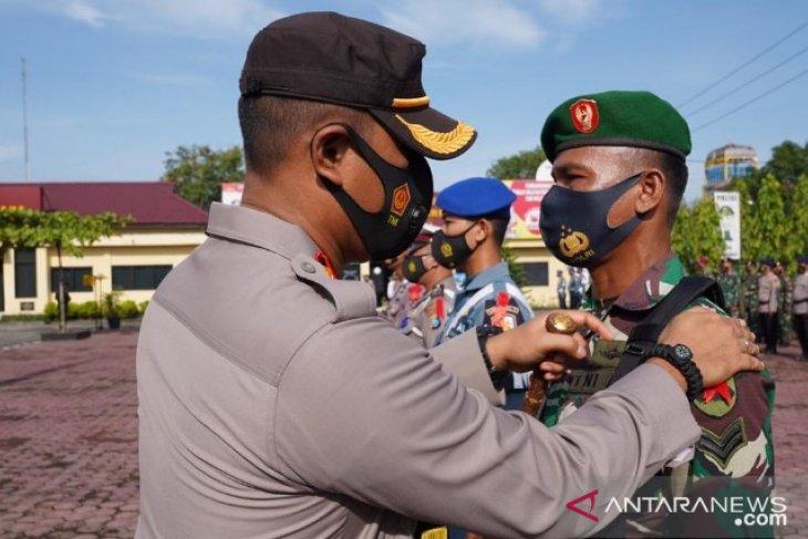 Kapolres Tanjungbalai pimpin apel gelar pasukan Operasi Ketupat Toba 2021