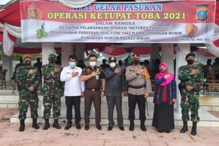 Wali Kota Binjai pimpin apel gelar pasukan Operasi Ketupat 2021