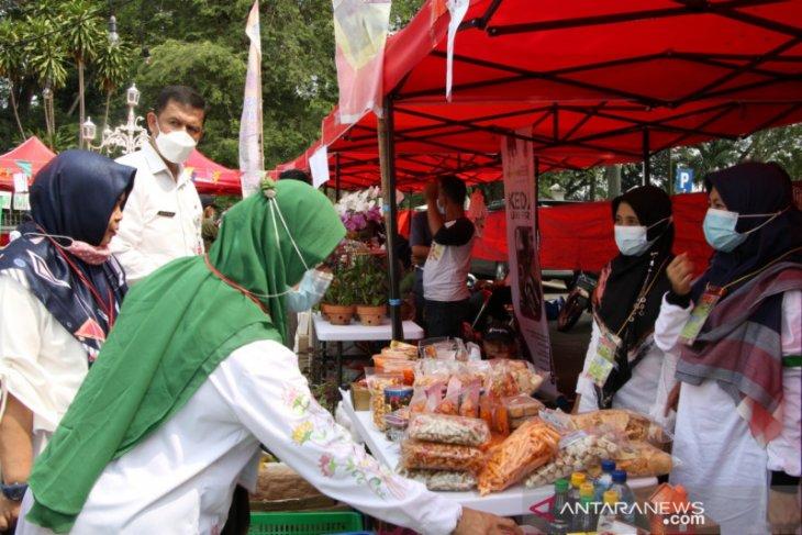 Bantu petani dan UMKM, Distan Kabupaten Serang gelar Pasar Tani