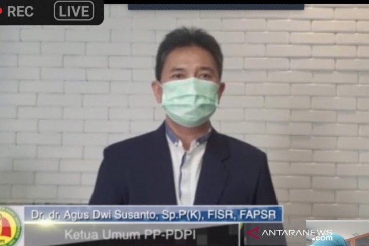 Perhimpunan dokter paru sebut  ICU di rumah sakit vertikal dan BUMN penuh