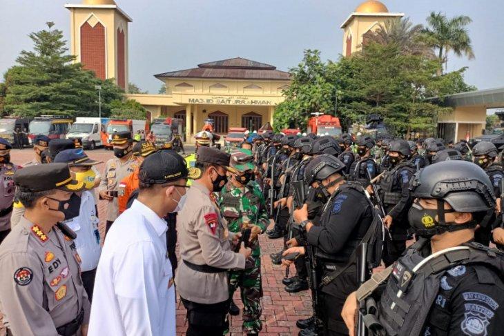 19 pos pengamanan disiapkan Polda Banten selama Operasi Ketupat Maung 2021