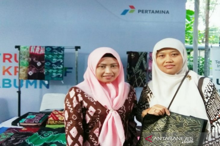 Pertamina dukung UMKM binaan lestarikan kain Etnik Suku Banjar