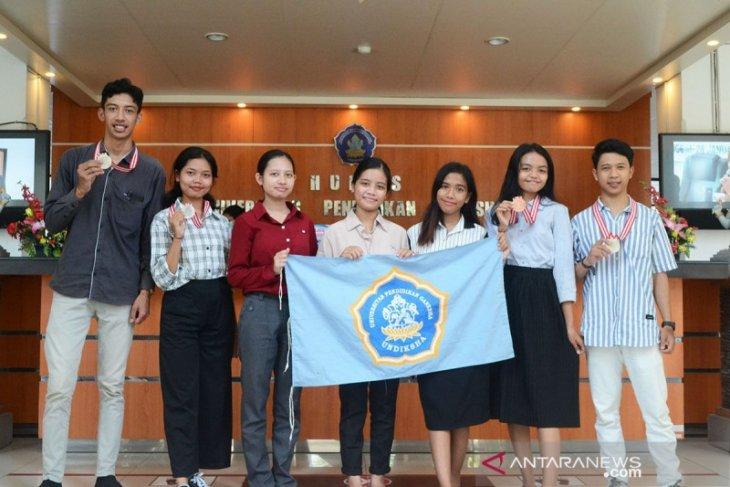 Undiksha raih enam medali pada IPITEx 2021 di Bangkok