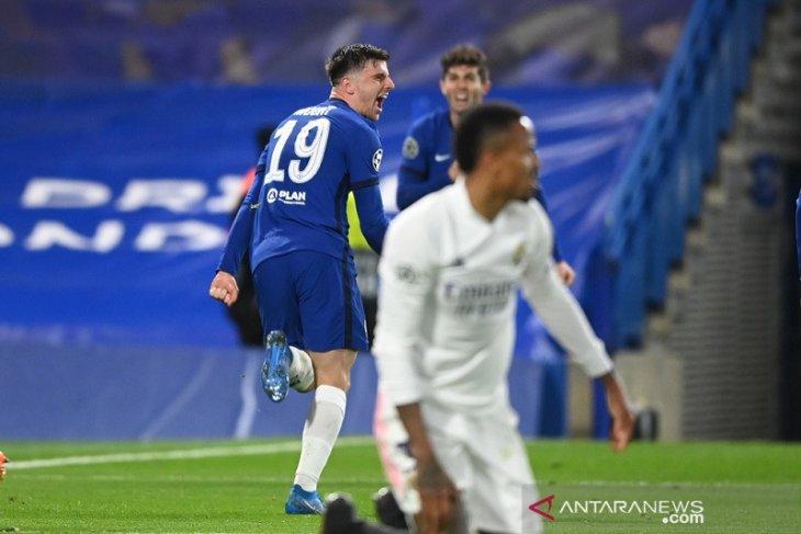 Chelsea ciptakan All-English Final Champions usai menang atas Madrid