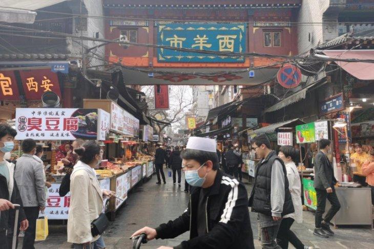 Berkunjung ke surga kuliner halal di Xi'an China