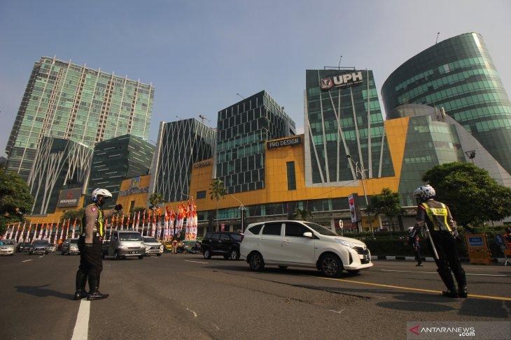 Hari Pertama Penyekatan Larangan Mudik Surabaya