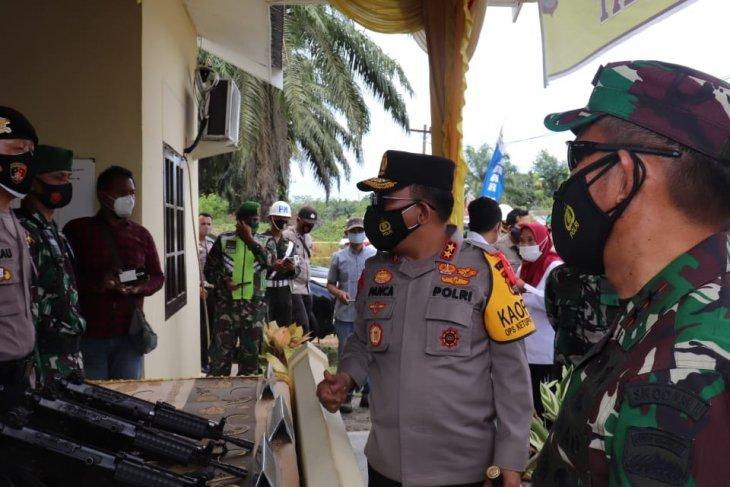 Kapolda: Awasi warga keluar masuk Sumut