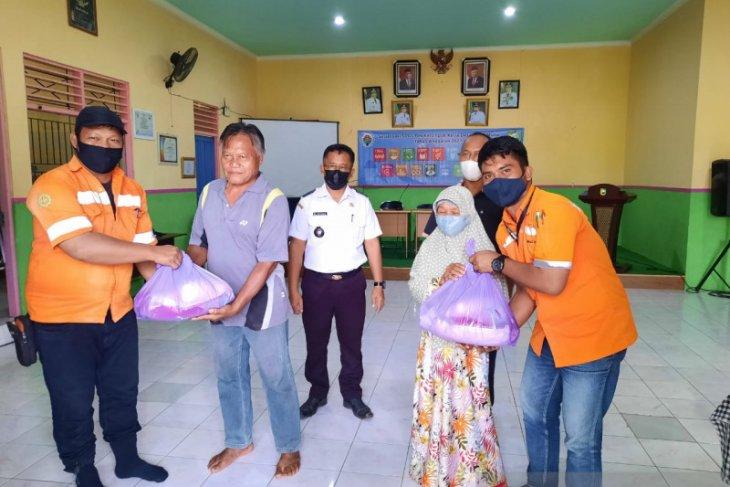 PT Arutmin dan mitra kerja salurkan bantuan sembako kedelapan desa