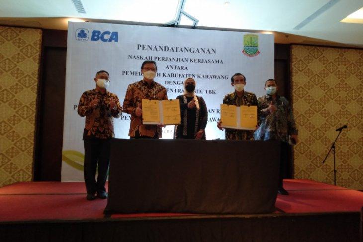 Pemkab Karawang gandeng BCA untuk pembayaran dan penerimaan PBB