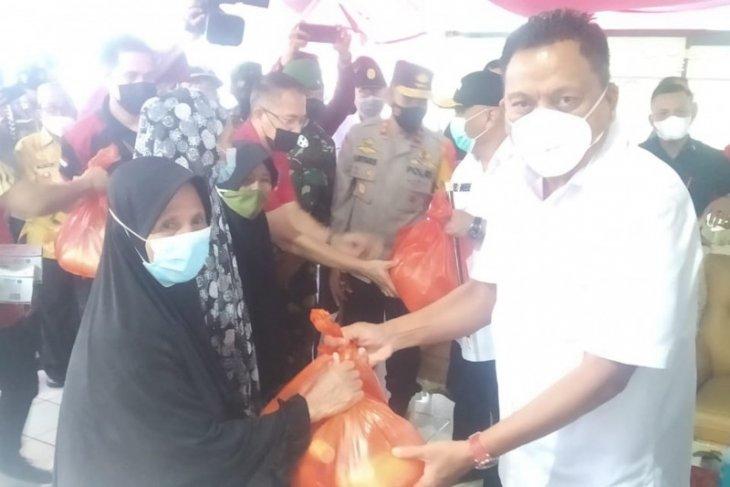 Olly Dondokambey-Rusli Habibie pantau penyekatan perbatasan Sulut dan Gorontalo