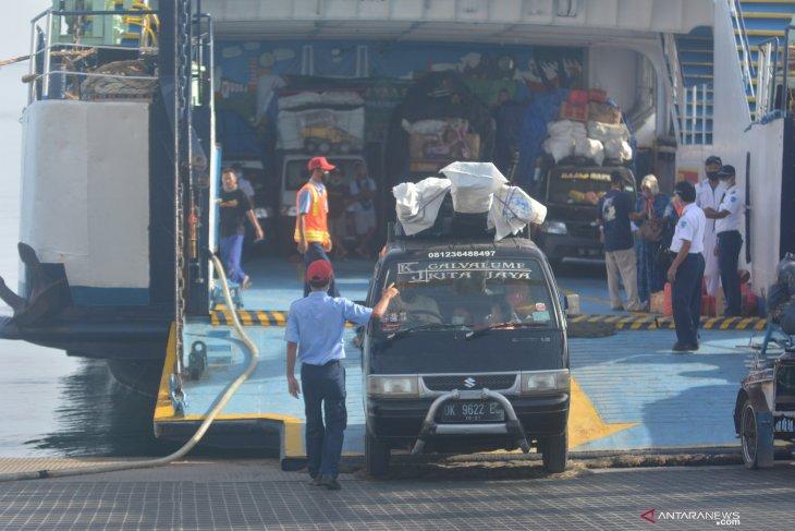 Penghentian Penyeberangan Pemudik Pelabuhan Jangkar