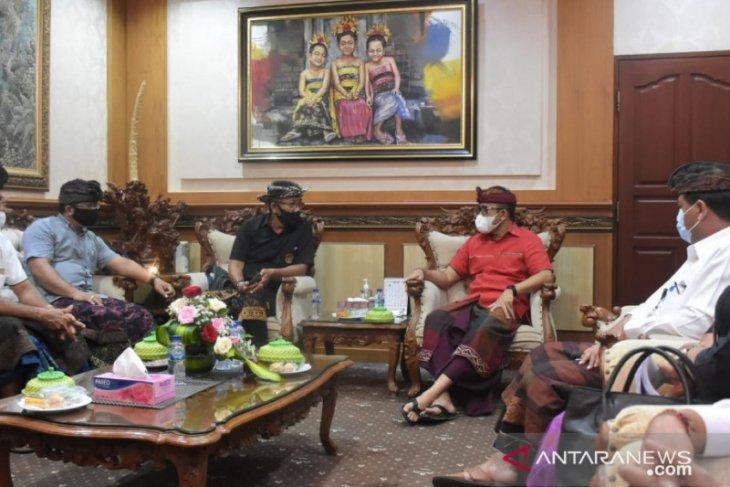 FPPD datangi Wali Kota Denpasar keluhkan maraknya pedagang bermobil