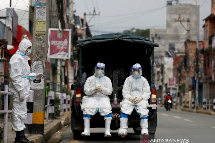 India kembali catat rekor, 3.980 kematian COVID