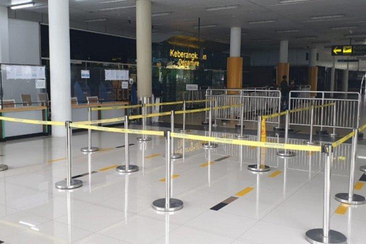 Suasana Bandara Jambi sama seperti