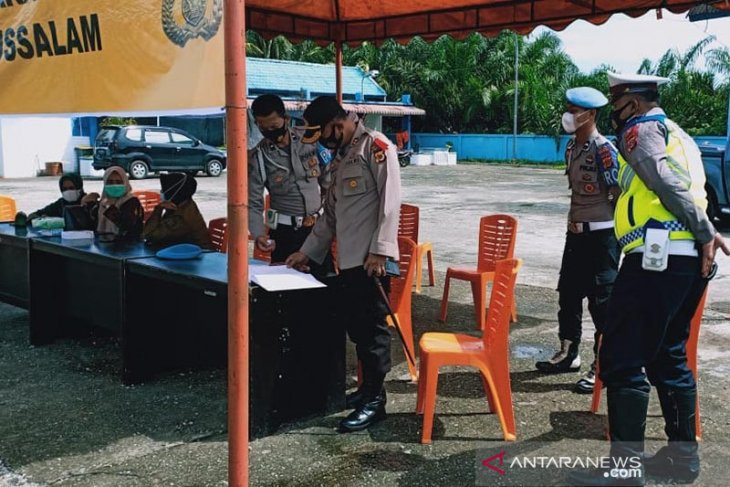 Larangan mudik, pos perbatasan Aceh-Sumut sepi