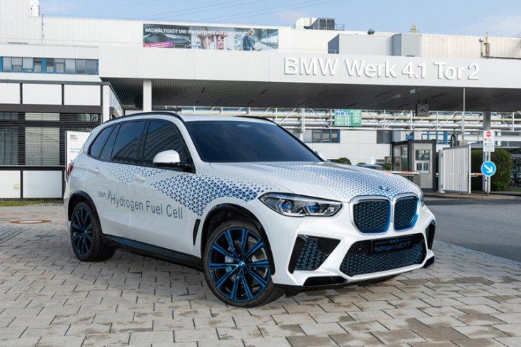 BMW dengan SUV hidrogen akan tersedia tahun 2022