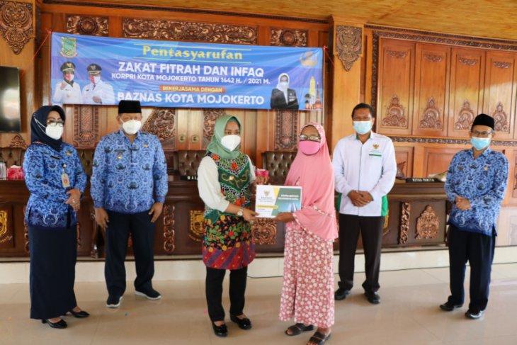 Korpri-Baznas Kota Mojokerto bersinergi salurkan zakat kepada 4.034 mustahik