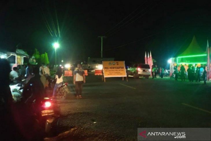 Polisi masih berlakukan putar balik untuk pemudik di Aceh Jaya