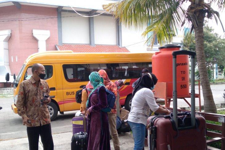Sejumlah pekerja Migran asal Situbondo telah tiba