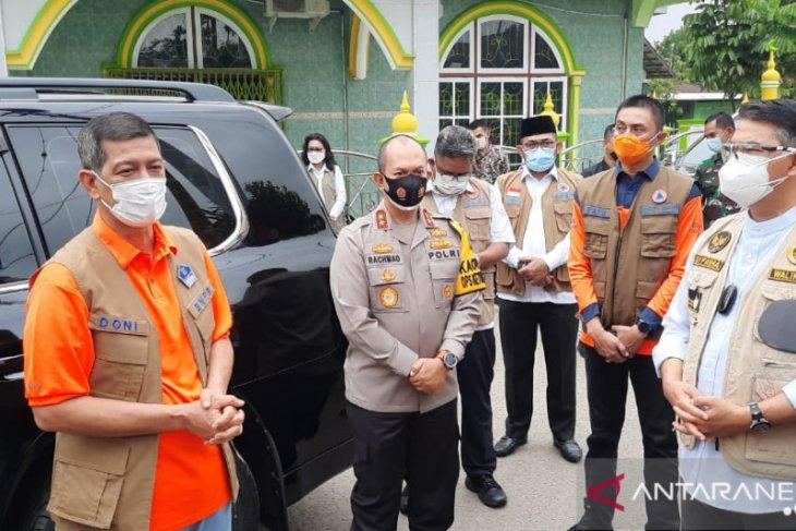 Doni Monardo mengapresiasi terhadap penerapan PPKM Mikro di Jambi