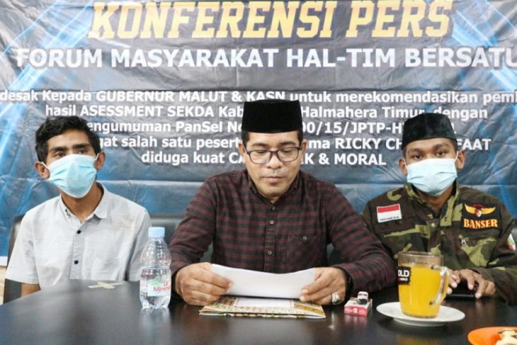 Sejumlah elemen tolak hasil seleksi JPTP Sekda Kabupaten Halmahera Timur