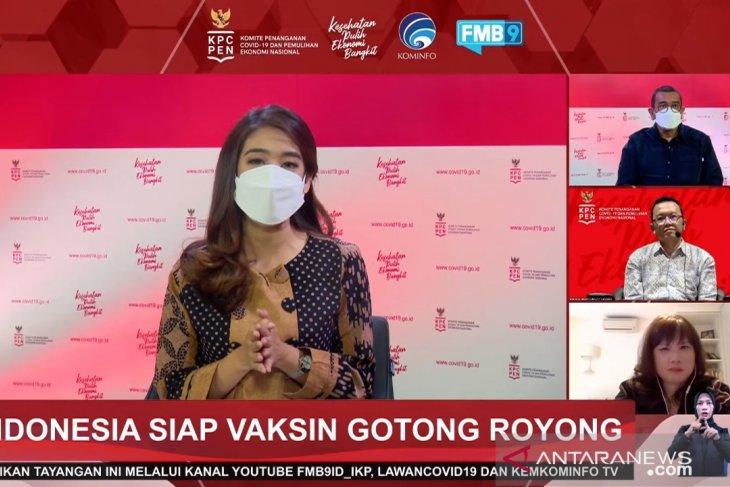 Vaksinasi Gotong Royong ditargetkan mulai bergulir 17 Mei 2021