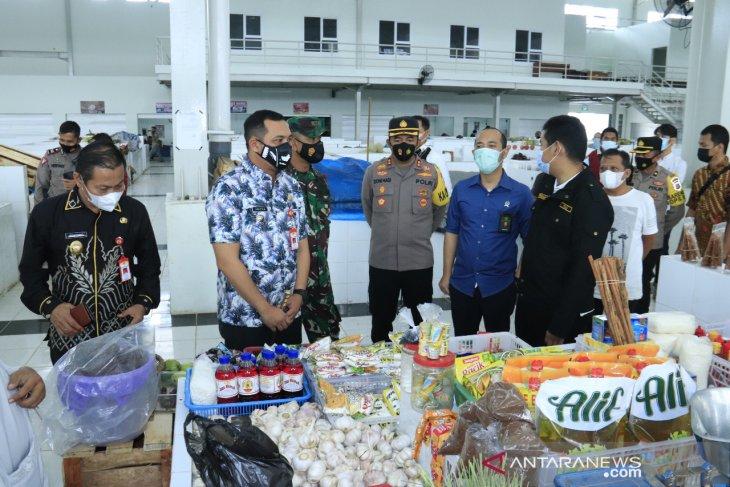 Wali Kota bersama Forkopimda sidak pasar dan pusat perbelanjaan