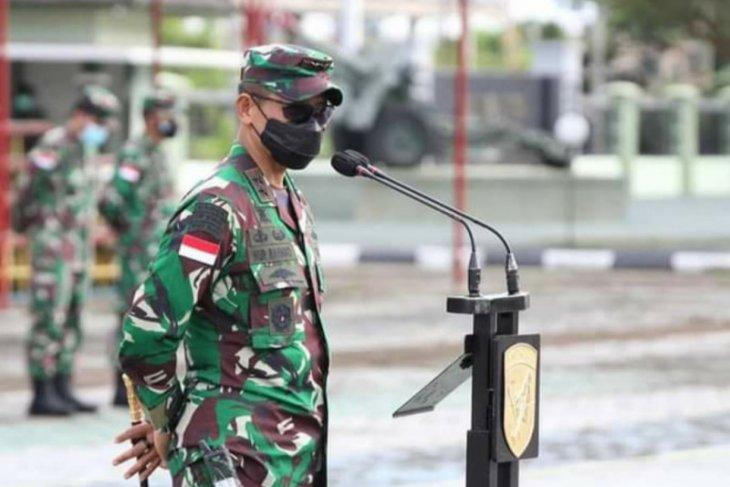 Sambut Idul Fitri Pangdam XII/Tpr ingatkan seluruh personel waspadai COVID-19