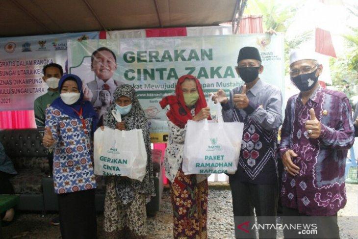Puluhan Akseptor KB dapat layanan gratis dan paket Ramadhan