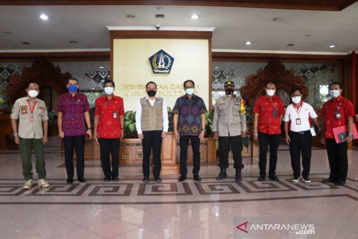 Tim Satgas pakar penanganan COVID-19 nasional awasi prokes di Badung