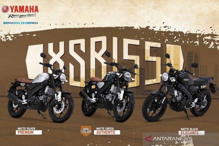 Yamaha XSR 155 usung warna baru konsep