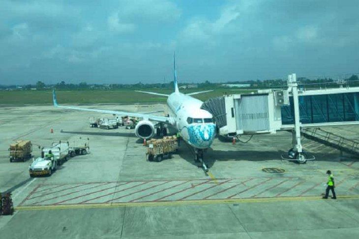 Hari ini Bandara Sultan Thaha layani dua penerbangan, Garuda dan Susi Air