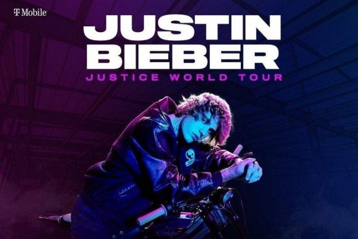 Justin Bieber mulai tur dunia Februari 2022