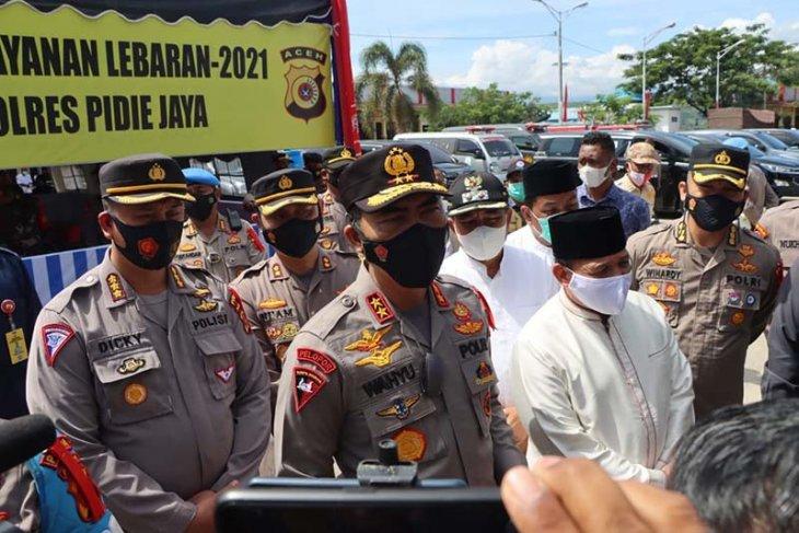 Kapolda Aceh ingatkan masyarakat patuhi kebijakan pemerintah